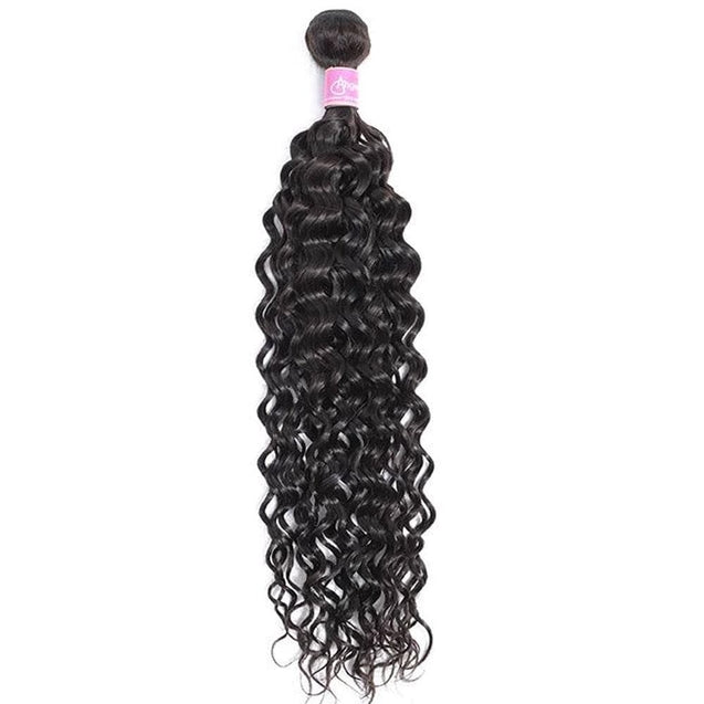 Angie Queen 1 Bundle Indian Water Wave Virgin Human Hair Weave Bundles