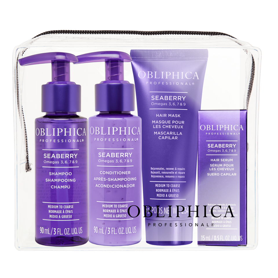 Travel Kit Medium to Coarse Obliphica Professional Seaberry