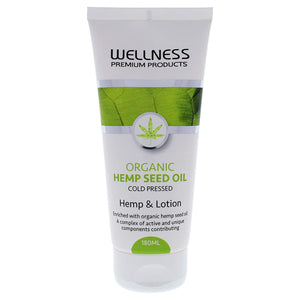 Organic Hemp Lotion 6 oz Wellness