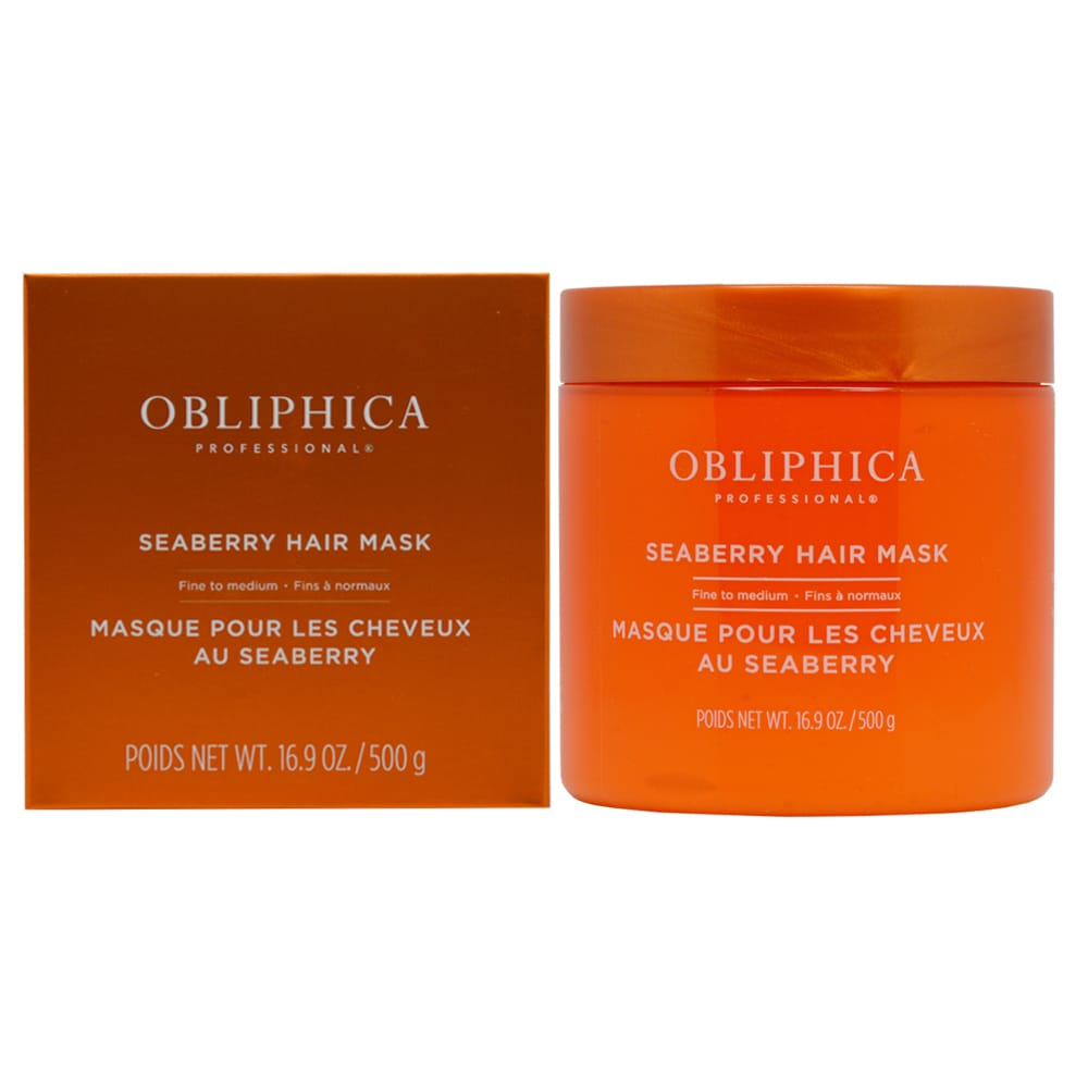 Mask Fine to Medium 16 0z. (Grande) Obliphica Professional Seaberry
