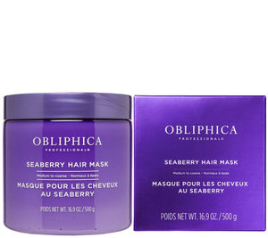 Mask Medium to Coarse 16 onz. Obliphica Professional Seaberry