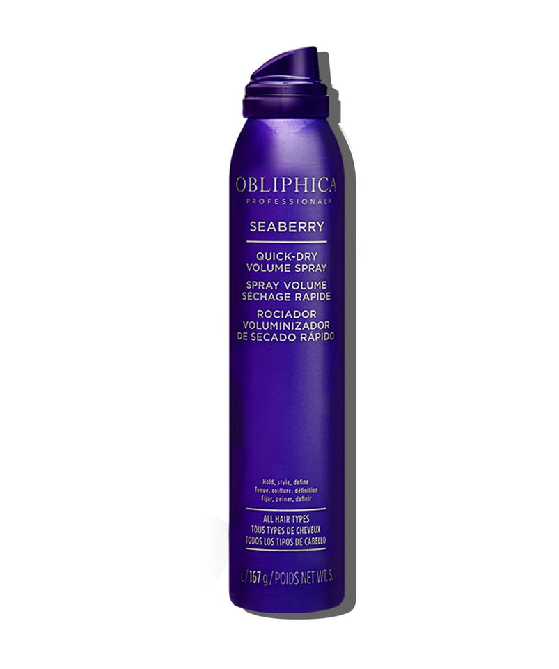 Quick-Dry Volume Spray 5.7  oz. Obliphica Professional Seaberry