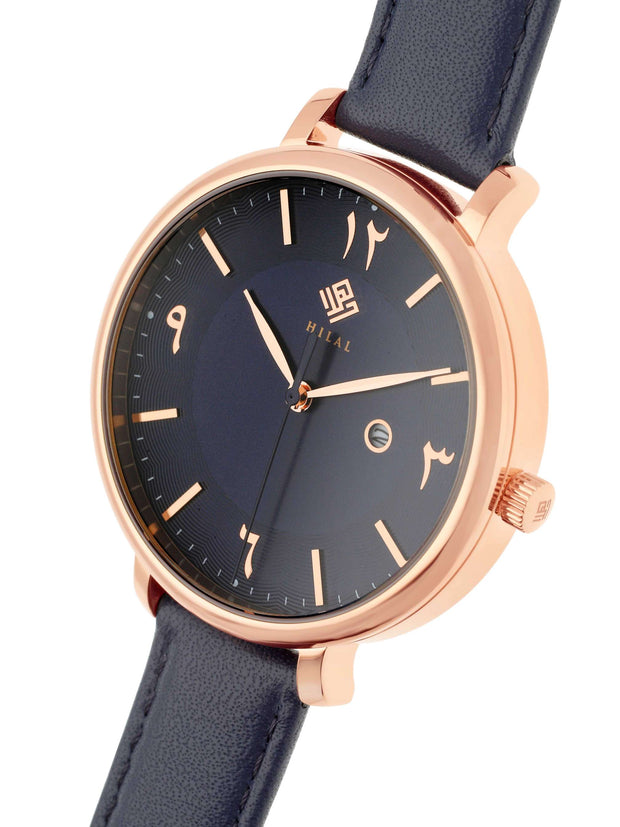 HYBA - OR ROSE/BLEU NUIT - HILAL WATCHES