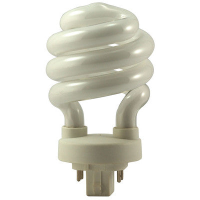 EiKO 05250 SP18/27-4P 2700K 18W 4 Pin Base Compact Fluorescent Spiral Bulb