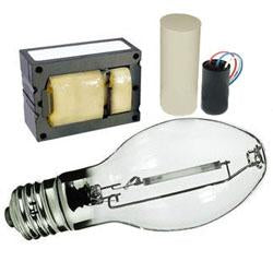 400 Watt Ballast & Bulb Pulse Start Kit M135 / M155 4-Tap