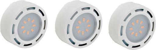 WESTGATE LED-PL3WH 3 Under Cabinet LED  Puck Light, 12W White