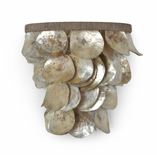 Palecek 2597-79 Oyster Shell Wall Sconce