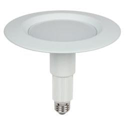 Westinghouse 31050 10 Watt 6in White Integrated LED Recessed Trim 3000K