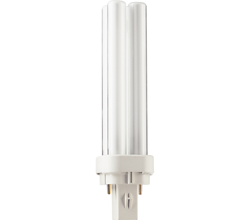 Philips 383109 13 Watt CFL PL-C 13W/827/USA/2P/ALTO 2 Pin GX23-2 Base 2700K