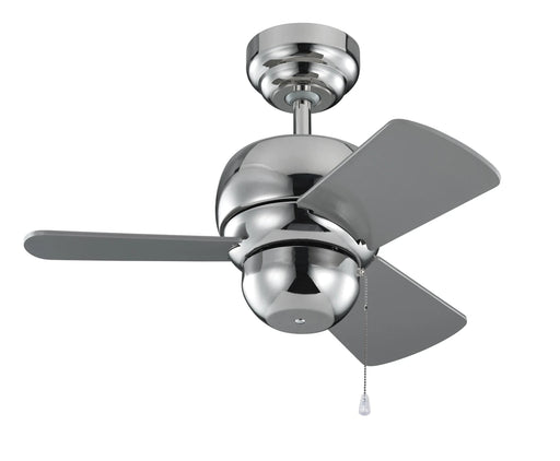 Monte Carlo 3TF24PN Micro 24 Polished Nickel 24 inch Mini Ceiling Fan