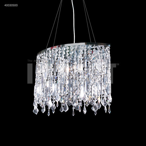 James R. Moder Contemporary Oval Chandelier