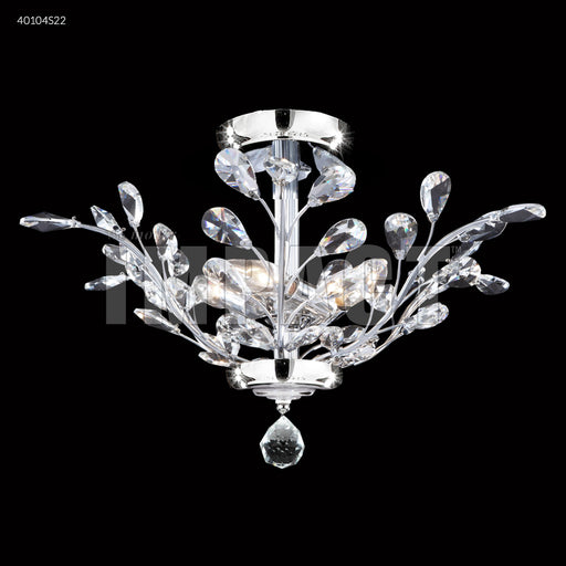 "James R. Moder ""Regalia"" Flush Mount Chandelier"