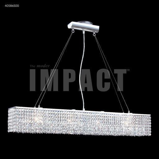 James R Moder Contemporary 37 inch Linear Chandelier
