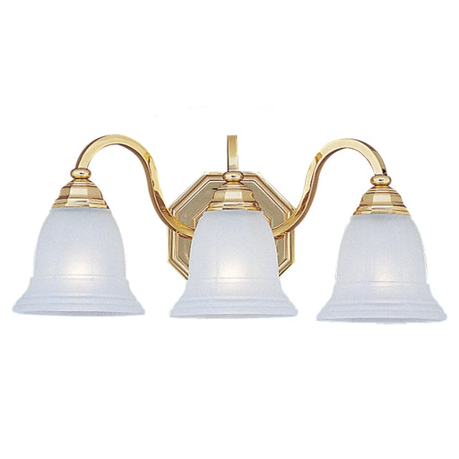 Sea Gull Lighting Blakely 4059-02 Gold Polished Bath Vanity Bar Fixture 22 1/4""