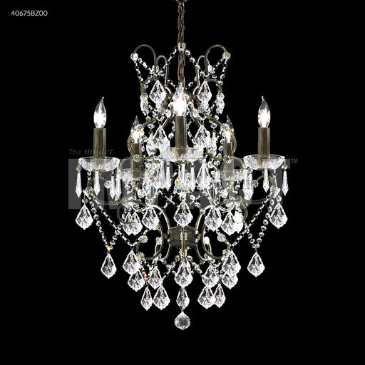 James R Moder Charleston 5 Arm Chandelier