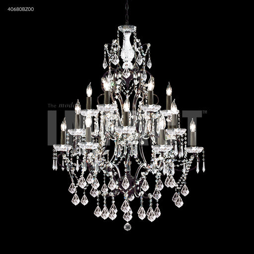 James R Moder Charleston 18 Arm Chandelier