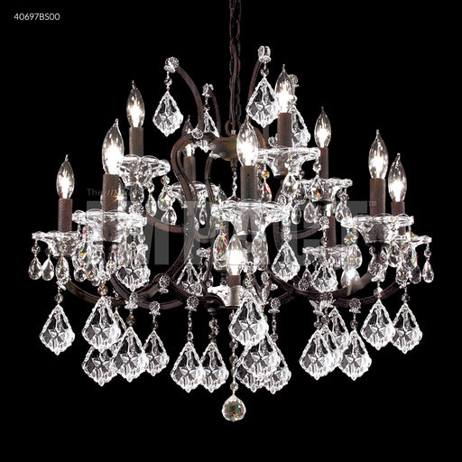 James R Moder Cosenza 12 Arm Chandelier