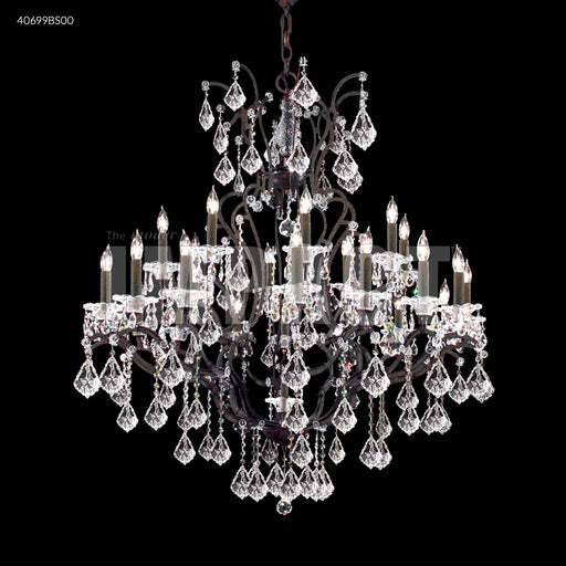 James R Moder Cosenza 24 Arm Chandelier