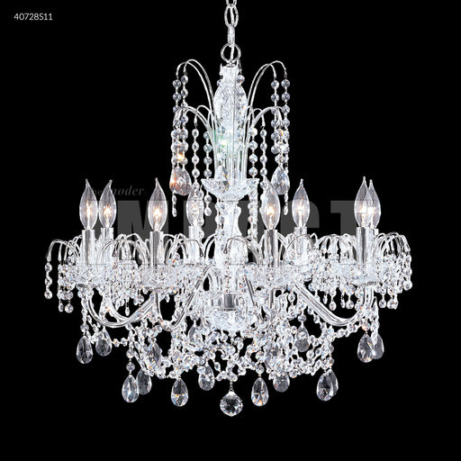 James R Regalia 8 Arm Swarovski Crystal Chandelier