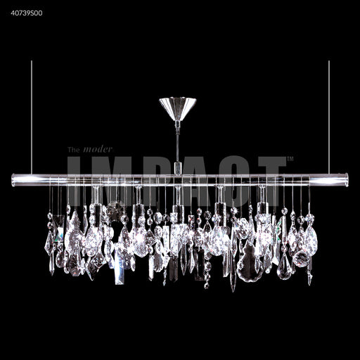 James R Moder Contemporary 40739 Linear Chandelier