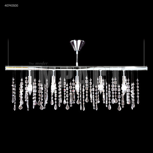 James R Moder Contemporary 40740 Linear Chandelier