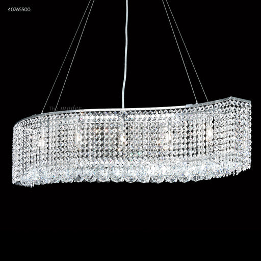James R Moder 33 inch Contemporary Wave Chandelier