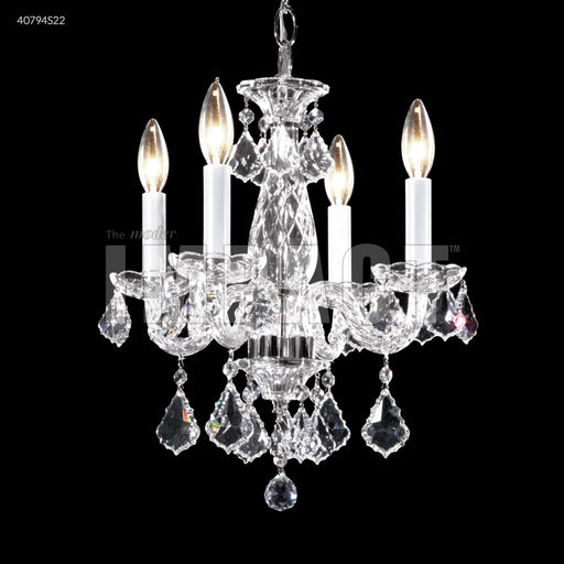 James R Moder Palace Ice 4 Arm Mini Chandelier