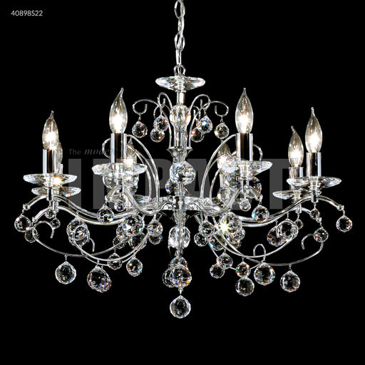 James R Moder Regalia 8 Arm Swarovski Crystal Chandelier