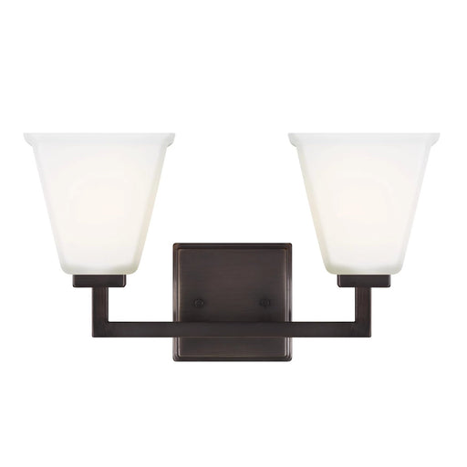 SeaGull Ellis Harper Oil Rubbed Two Light Bath Vanity