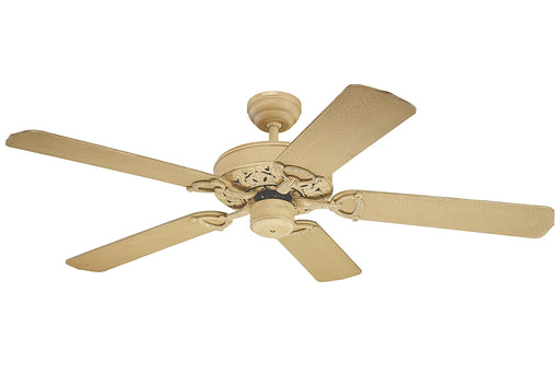 "Monte Carlo Fans 5OR52AF Ornate 52"" Ceiling Fan Aged Fresco Finish"