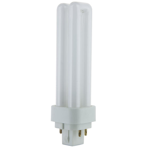 Sunlite 60100 13 Watt PLD 4-Pin Double U-Shaped Twin Tube G24Q-1 Base 2700K