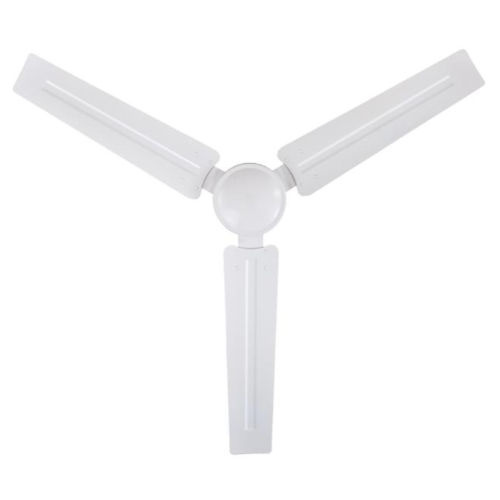"Westinghouse 56"" Industrial Ceiling Fan White Ball Hanger Mount"