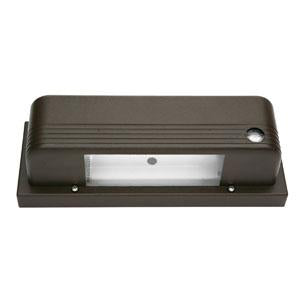 Designers Edge L-1905-13W-BR 13W Fluorescent Wall Up/Down Security Light