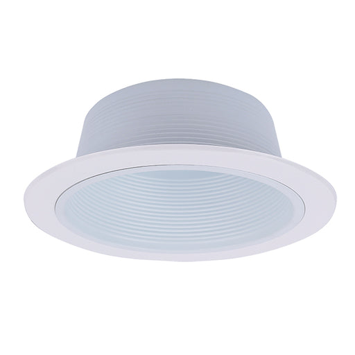 Royal Pacific 8510WH White Recessed 6-Inch Baffle Trim