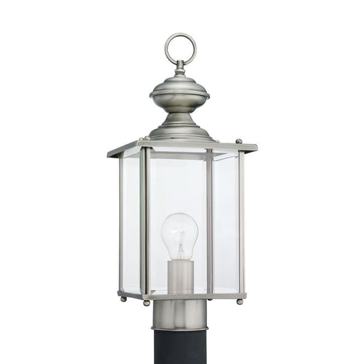 Sea Gull 8257-965 Jamestowne 17 inch Post Lantern In Antique Brushed Nickel