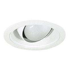 Royal Pacific 8516WH 6 Inch Regressed Eyeball w/White Baffle Trim
