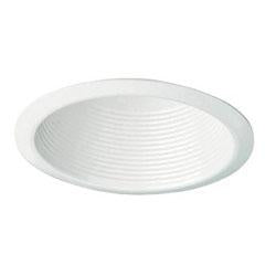 Royal Pacific 8519WH 6 Inch White Cone Baffle Trim