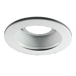 Royal Pacific 8802WH 4 in Baffle Recessed Lighting Trim, White