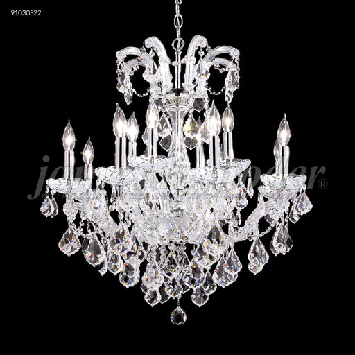 James R Moder Maria Theresa Grand 12 Arm Chandelier