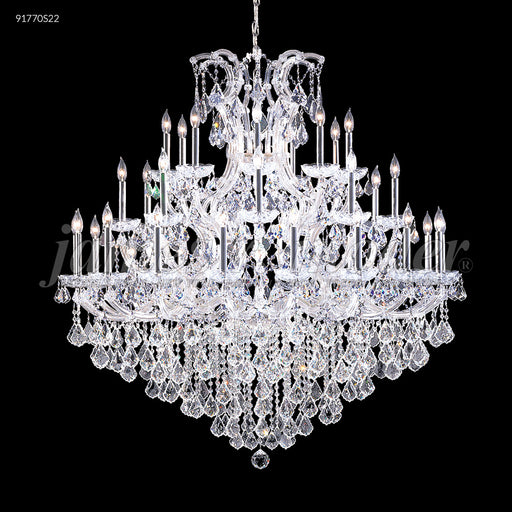 James R Moder Maria Theresa Grand 36 Arm Grand Entry Chandelier