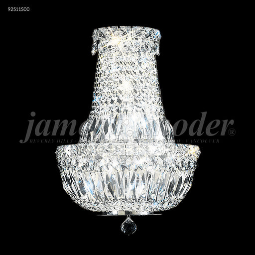 James R Moder Prestige All Crystal Wall Sconce