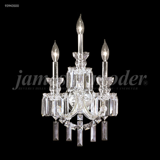 James R Moder Buckingham 3 Light Wall Sconce
