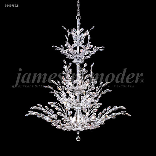 James R Moder Florale Deluxe Entry Chandelier