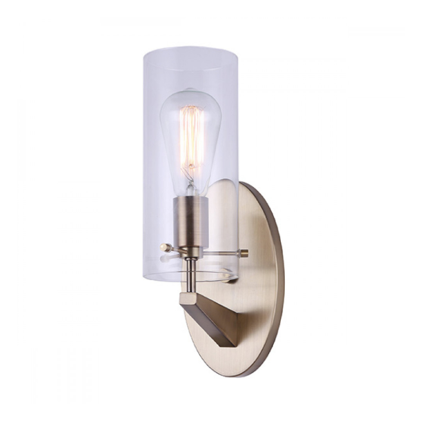 Canarm IVL759A01GD JONI 1 Light Vanity Light/Sconce Gold
