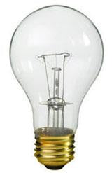 Case of 10-25-Watt Incandescent A19 MED Clear