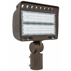 Area Flood Light Westgate LF4-150WW-SF 150W LED Flood Light with Slip Fitter 3000K Westgate