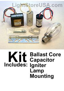 70 Watt Ballast Kit High Pressure Sodium S62 120V