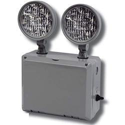 Emergency Light Radiant-Lite LEDTFX-2 Wet-Location Remote Capable LED Emergency Unit Radiant-Lite