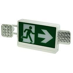 Exit Emergency Combo Radiant-Lite RMLEDCXTEU2WRC LED Running Man Exit Sign Combo Radiant-Lite