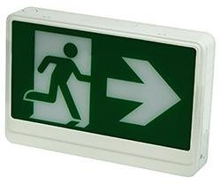 Exit Sign Radiant-Lite RMEZXTEU2W AC Only Running Man LED Exit Sign Radiant-Lite